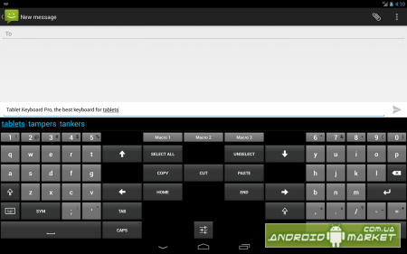 Tablet Keyboard Pro