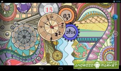 Glass Clock Live Wallpaper PRO