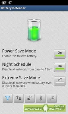 Battery Defender-Battery Saver