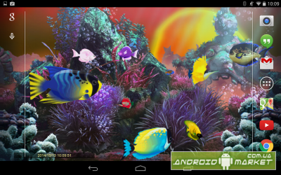Exotic Aquarium 3D LWP Gold