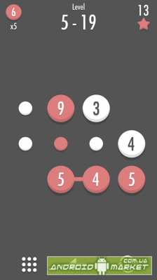 Noda Dots and Number Puzzle