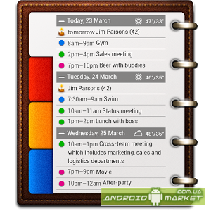 All-in-One Agenda widget Premium