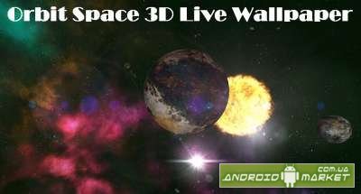 Orbit Space 3D Live Wallpaper
