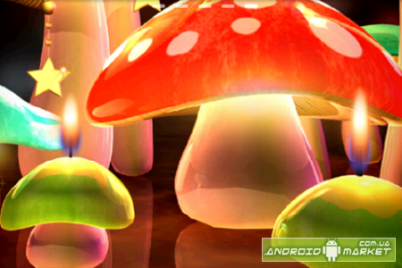 Mushroom Light LiveWallpaper