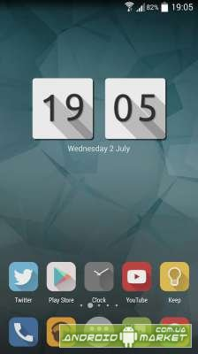 Lumos Clock Widget