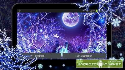 Winter Snow HD Live Wallpaper