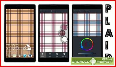 PLAID LIVE WALLPAPER
