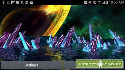Alien World 3D Parallax LWP