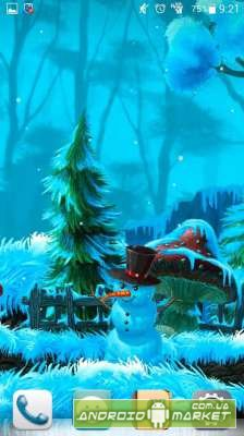 Winter Cartoon Forest Pro