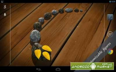 3D Zen Stones Live Wallpaper