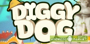 Diggy Dog - adventure time